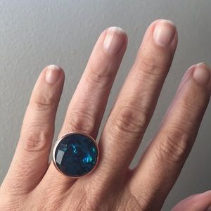 Jewelry - Deep Blue-toned Stone Ring